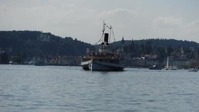 Photo: Matuzsálem gőzős a Luzerni öbölben