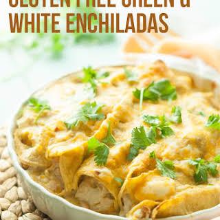 Gluten Free Chicken Enchiladas.