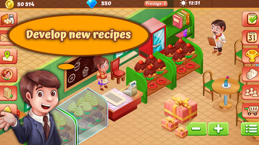 Idle Sweet Bakery Empire - Pastry Shop Tycoon ud83euddc1ud83cudf69 1.13.3 screenshots 2
