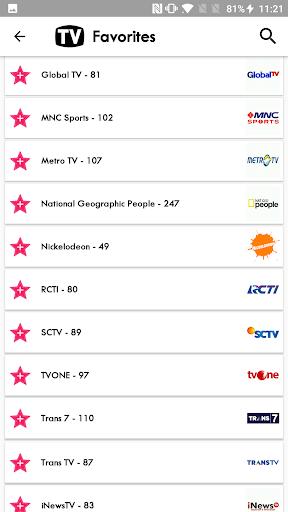 TV Indonesia Free TV Listing 5.8 screenshots 6