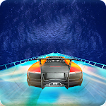 car stunts on impossible mega tracks Icon