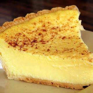 The Old Fashioned Custard Pie