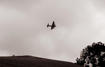 Photo: Lancaster Bomber at Winterton Show 2014