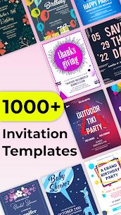 Invitation Maker Free, Paperless Card Creator 2