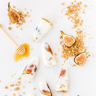 Honey Yogurt Fig Pops