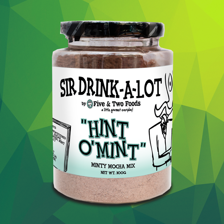 Sir Drink-A-Lot's 'Hint O'Mint' Minty Mocha Mix by Five & Two Fine Foods