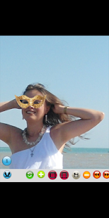 Photo montage carnival mask - náhled