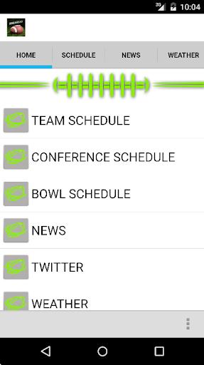 Schedule Northwestern Football