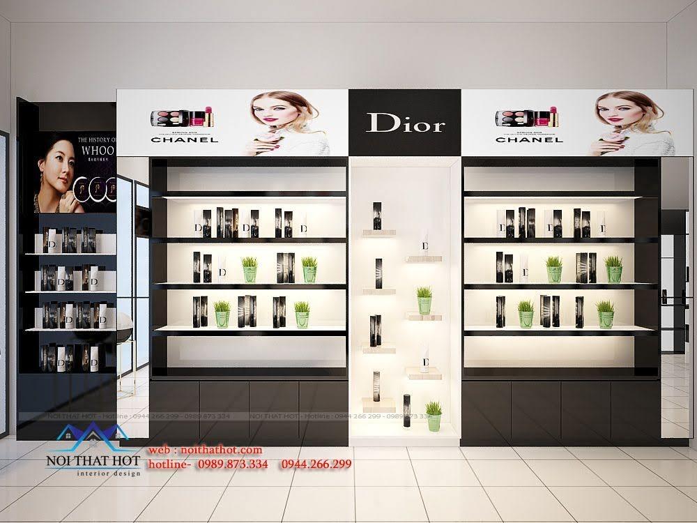 thiết kế shop mỹ phẩm châu âu 5