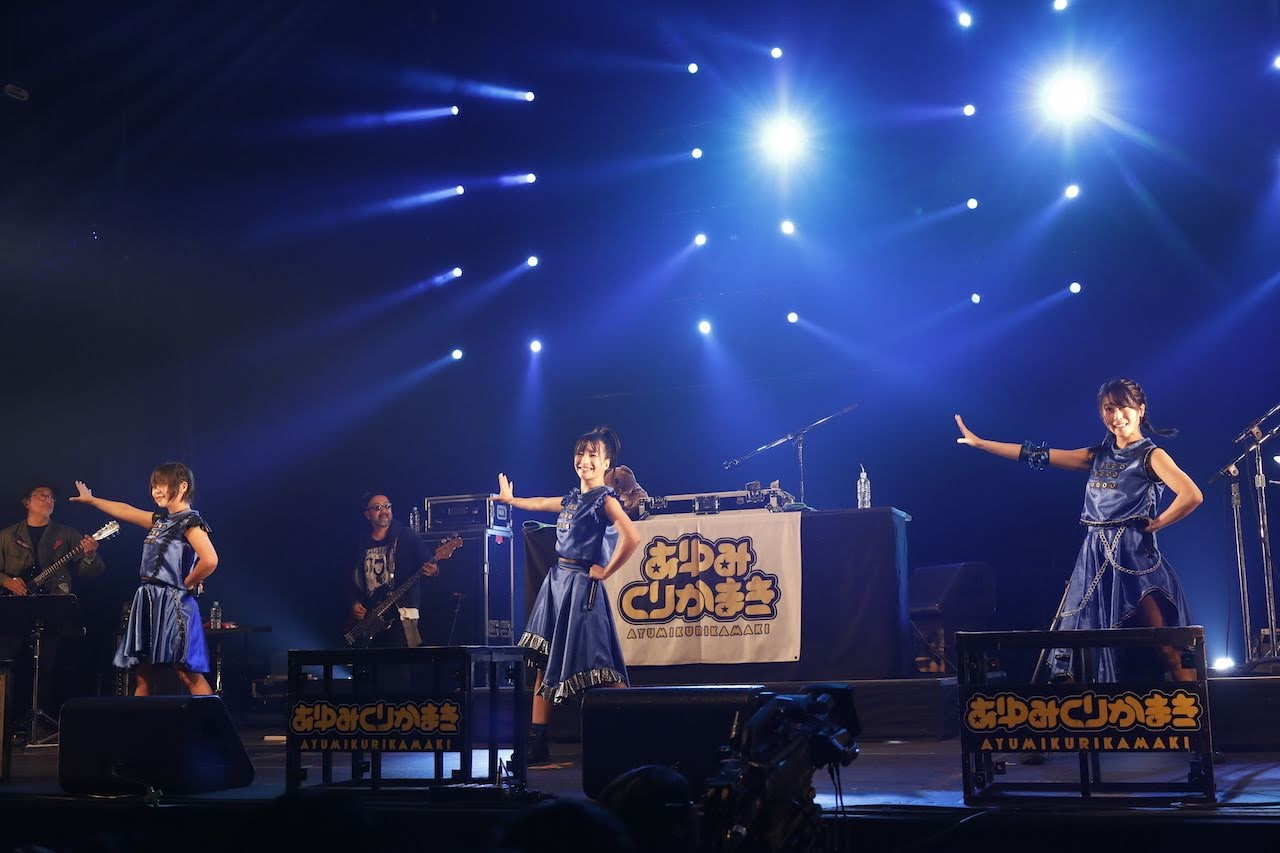 【迷迷現場】COUNTDOWN JAPAN 18/19 關西偶像龐克DJ組合 あゆみくりかまき ( Ayumikurikamaki )