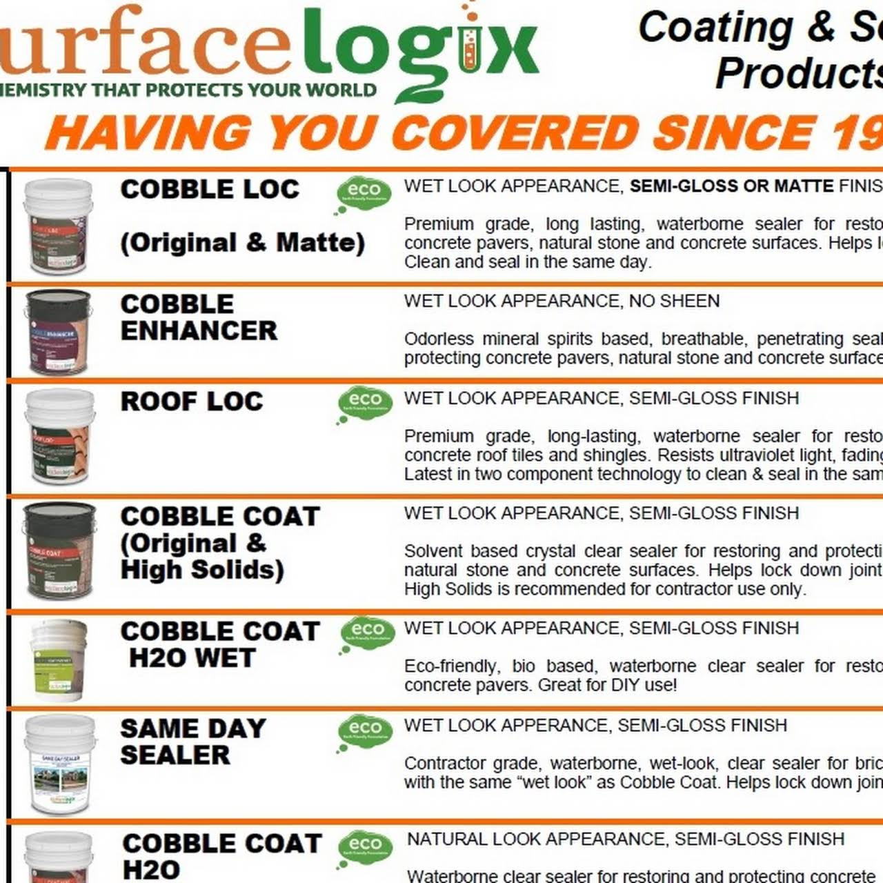 SurfaceLogix / Reliance Supply Company USA Inc - Manufacturer in