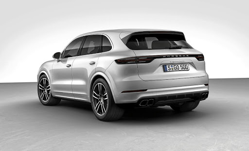 Porsche revealed its Cayenne Turbo at Frankfurt. Picture: PORSCHE