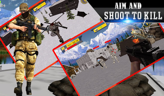 Lone Sniper Army Shooter 3D screenshot 06