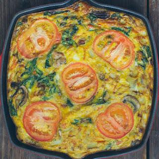 Chicken Sausage & Veggie Frittata.