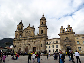Photo: Bogotá - Plaza de Bolivar and Catedral Primada