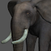 Elephant Pose Tool 3D Icon