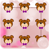 Teddy Bear Applock Theme