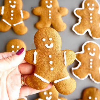 Paleo Almond Flour Gingerbread Men Cookies (GF) Recipe