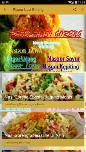 2020 resep nasi goreng app download for pc android latest 99images