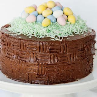 Easter Basket Cake.