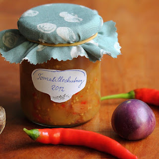 Hot Tomatillo Chutney.