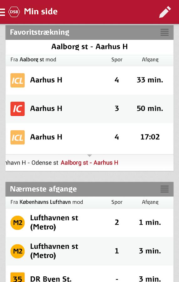 DSB - screenshot