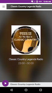 Classic Country Legends Radio - náhled