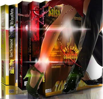 Instructional Salsa DVD