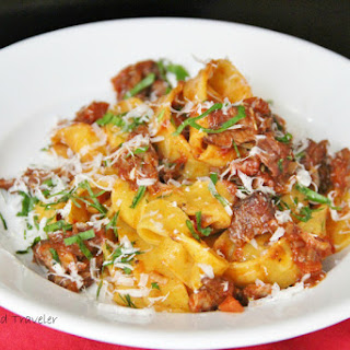 Pappardelle with Pork Rib Ragù
