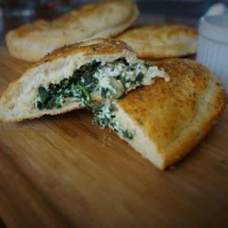 Spinach Artichoke Calzones