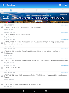 Cisco Events- screenshot thumbnail