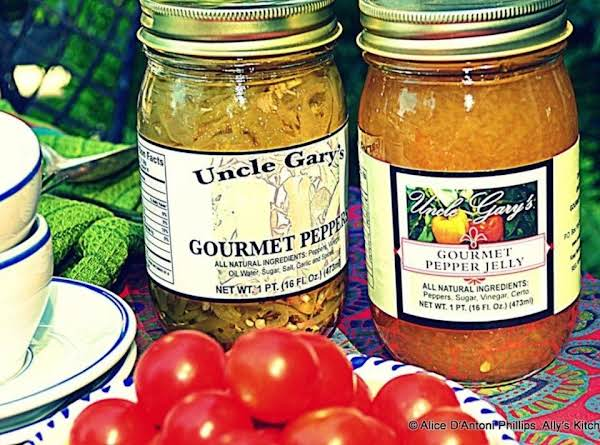 Uncle Gary's Gourmet Peppers & Pepper Jelly Recipe