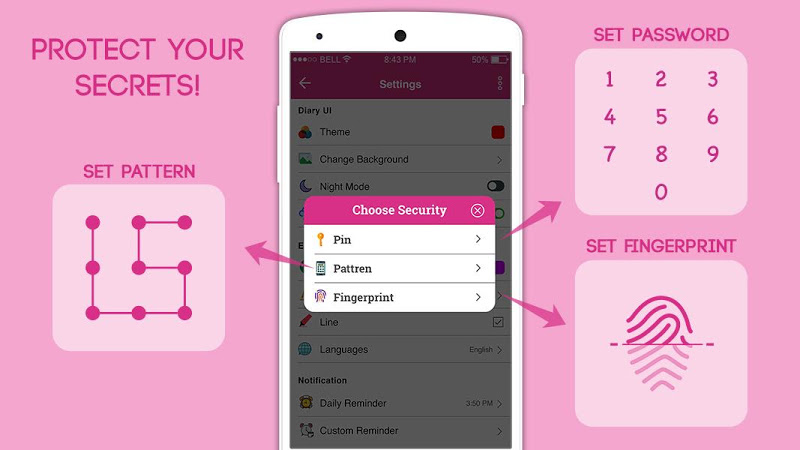 Secret Diary With Lock - Diary With Password Screenshot 10