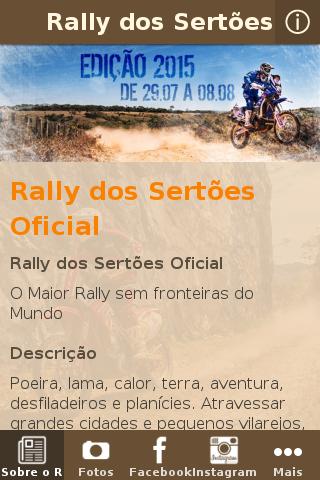 Rally dos Sertões Press