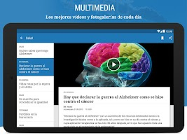 Screenshot of El Mundo - Diario líder online