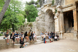 """Photo: """"Temple of Diana"""" in Nimes"""