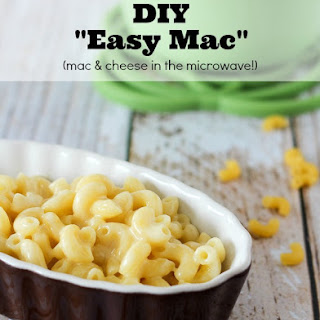 "Copycat ""Easy Mac"" {microwave macaroni and cheese recipe}"