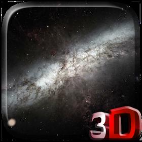 Галактика 3D видео живые обои