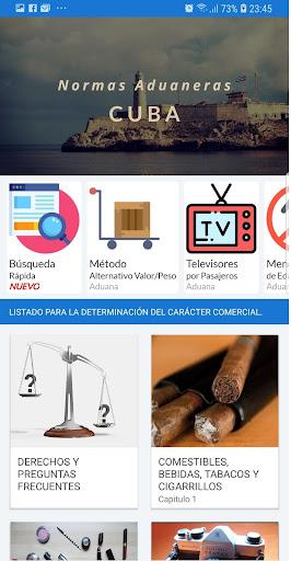 Normas Aduaneras de Cuba 13 screenshots 1