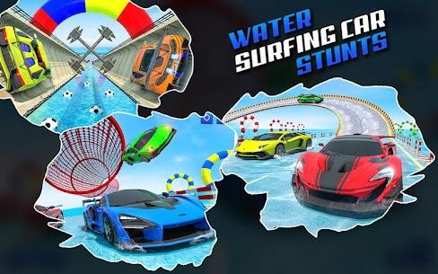 Water Surfing Car Stunts 5