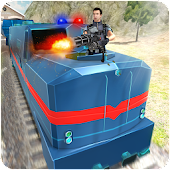 Police Bullet Train Simulator