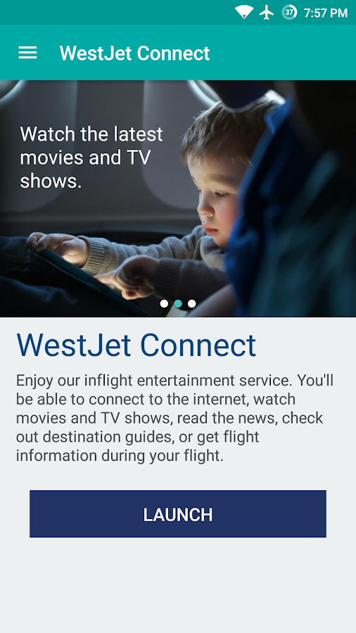 WestJet- screenshot