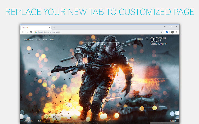 Battlefield Wallpapers NewTab - freeaddon.com