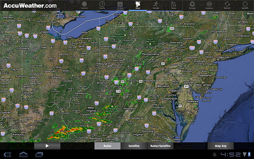AccuWeather for Sony Tablet S screenshot 7