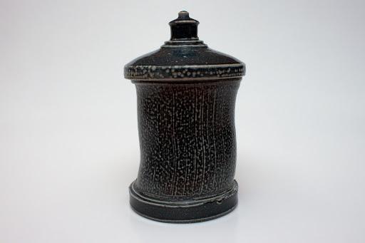 Walter Keeler Ceramic Salt Glazed Jar 07