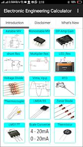 Electronic Engineering Calculator 2.3