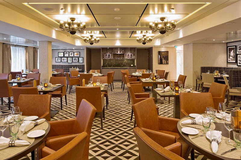 Viking Star features six restaurants, including Manfredi's Italian Restaurant.