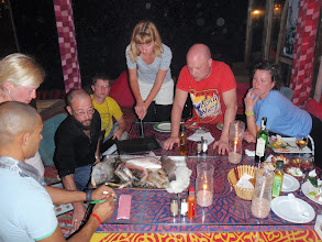 Photo: Восточная торговля в ресторане