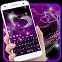 Neon Purple Keyboard Theme icon