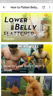 How to Flatten Belly Fat - náhled